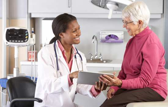 patient and health care provider